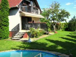 Ferienhaus pool Balaton