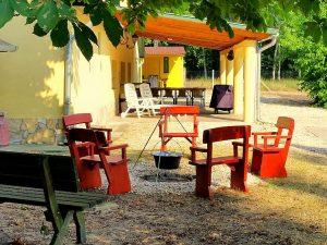 Ferienvilla Ungarn Wald Villa Csemö